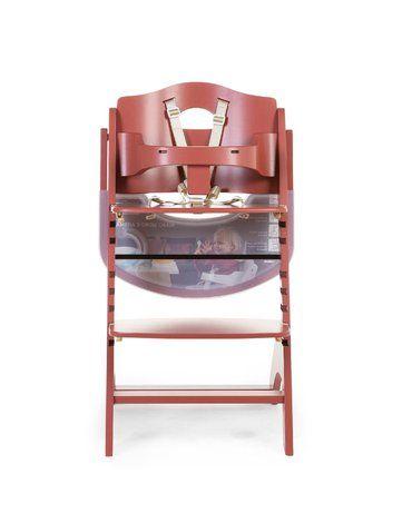 Krzesełko do karmienia Lambda 3 Red Brick CHILDHOME