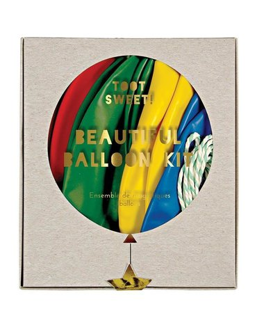 Meri Meri - Zestaw balonów z ozdobami Multikolor