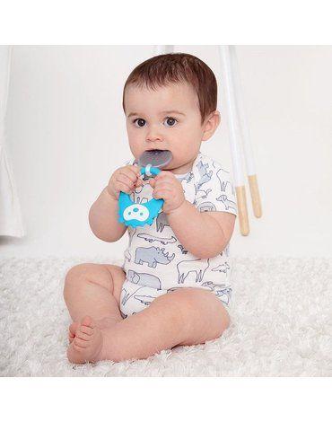 SKIP HOP - Silikonowy gryzak chłodzący Jeż Explore&More