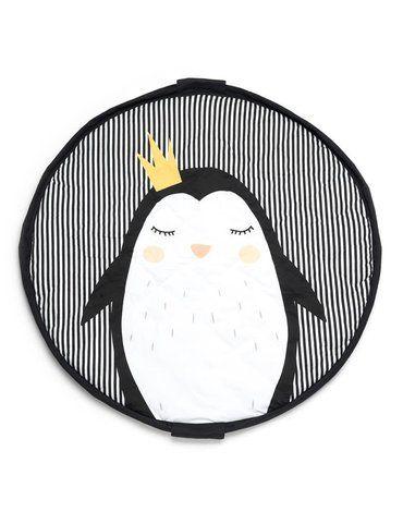Play&Go - Mata i worek 2w1 Soft Pingwin