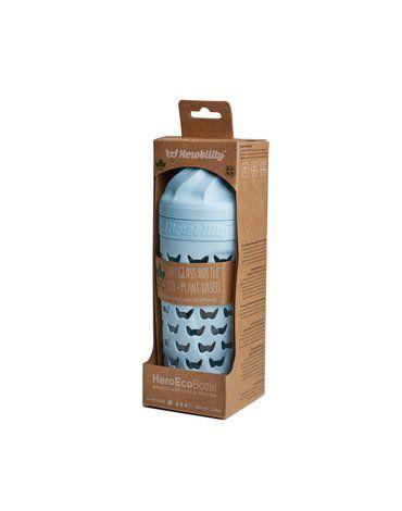 Herobility - butelka antykolkowa HeroEcoBottle - niebieska, 320 ml