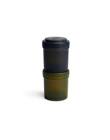 Herobility - pojemnik 2x100 ml, czarny/zielony, 2 szt.