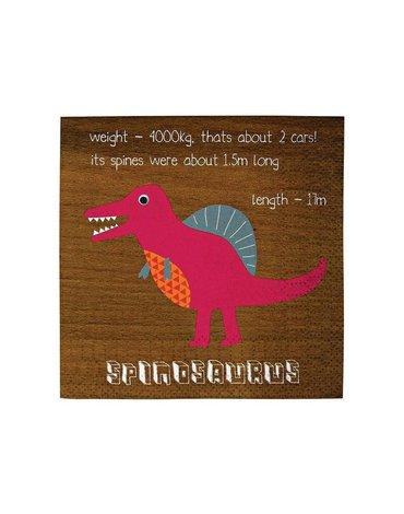 Meri Meri - Małe serwetki Dinozaur