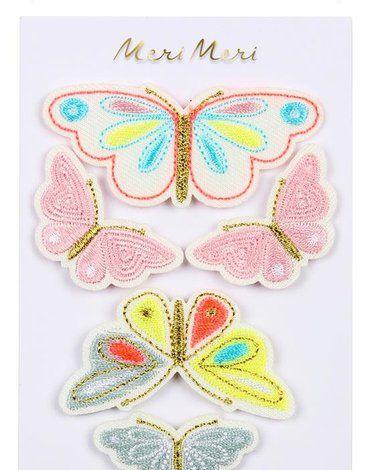 Meri Meri - Naprasowanki Motyle
