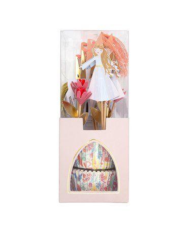 Meri Meri - Zestaw do babeczek Magiczne księżniczki