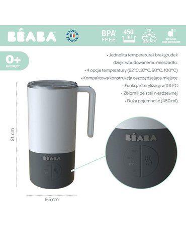 Beaba Milk Prep® Ekspres do mlecznych napojów White/grey