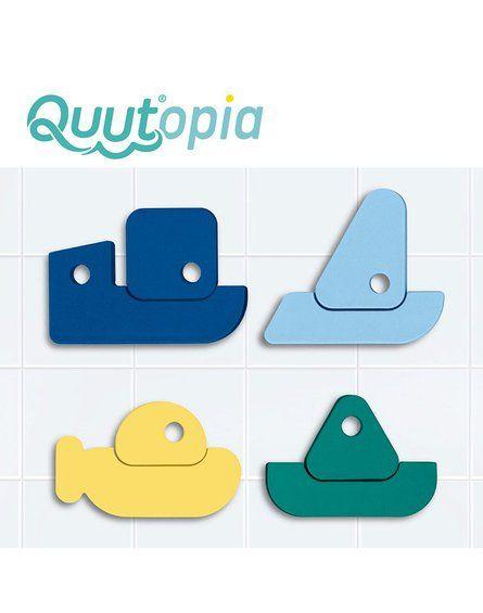 QUUT Zestaw puzzli piankowych Quutopia Łódki 10m+