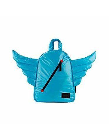 7AM - Plecak BackPack MINI WINGS Turquoise