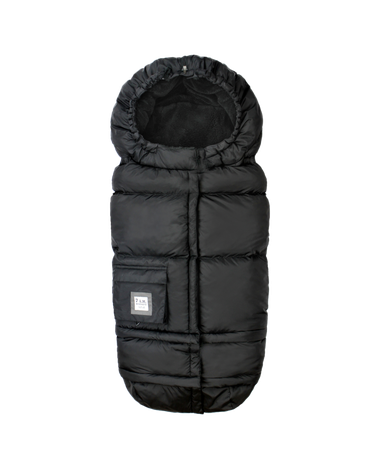 7AM - Śpiworek do wózka Blanket 212 Evolution Black Plush
