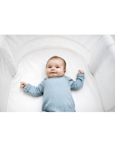 BABYBJORN - prześcieradło do łóżeczka BABY CRIB, białe