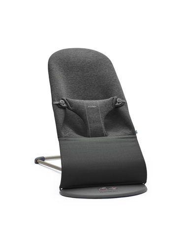 BABYBJORN - leżaczek BLISS 3D Jersey - Ciemny Szary
