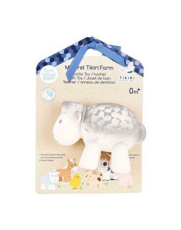 Tikiri - Gryzak zabawka Owca Farma z opakowaniem