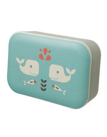 Fresk Bambusowe pudełko śniadaniowe Wieloryb FRESK