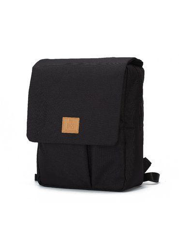 My Bag's Plecak Reflap eco black/ochre