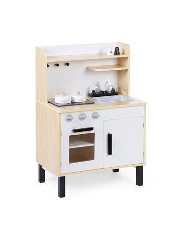 CHILDHOME - Kuchnia drewniana z akcesoriami