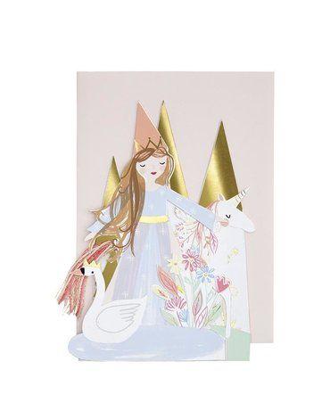 Meri Meri - Karta okolicznościowa 3D Księżniczki