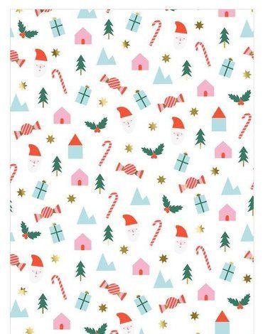 Meri Meri - Papier ozdobny Boże Narodzenie
