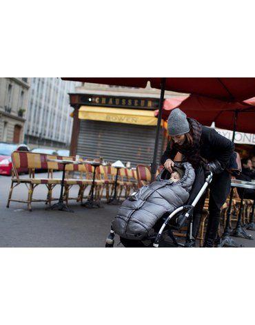 7AM - Śpiworek do wózka i fotelika samochodowego Blanket 212 Evolution Metallic Silver