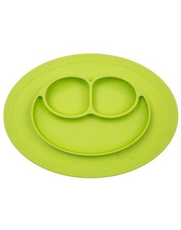 EZPZ - Silikonowy talerzyk z podkładką mały 2w1 Mini Mat zielony