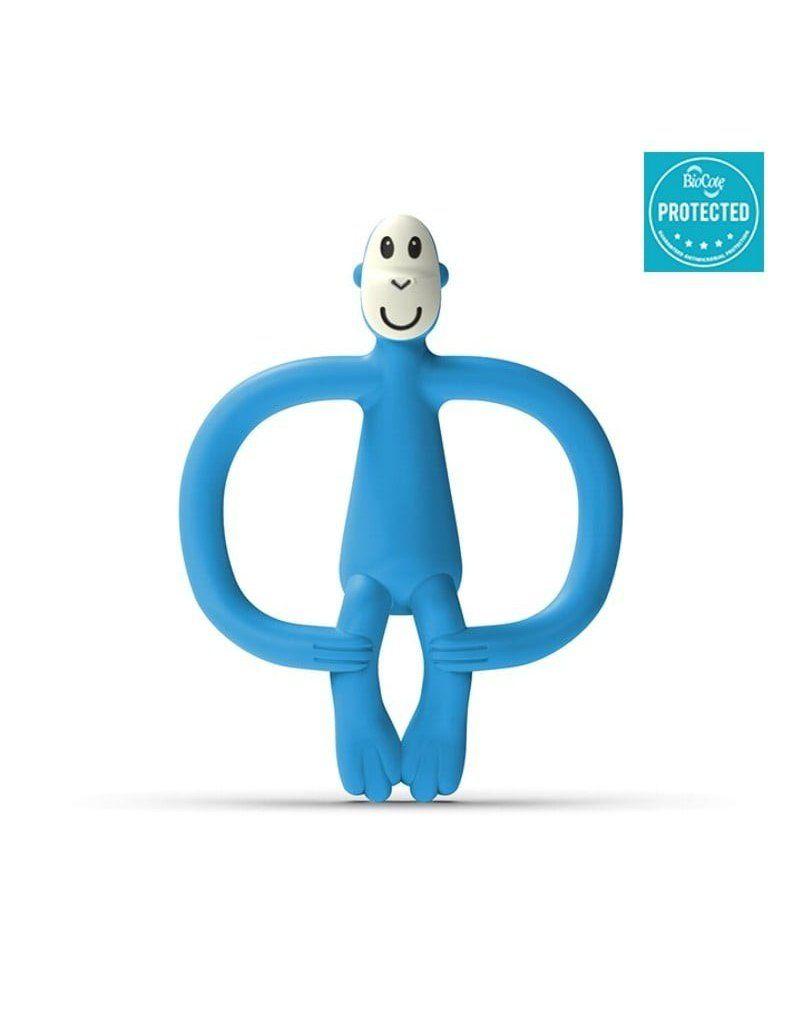 Matchstick Monkey Azure Blue Gryzak Masujący ze szczoteczką
