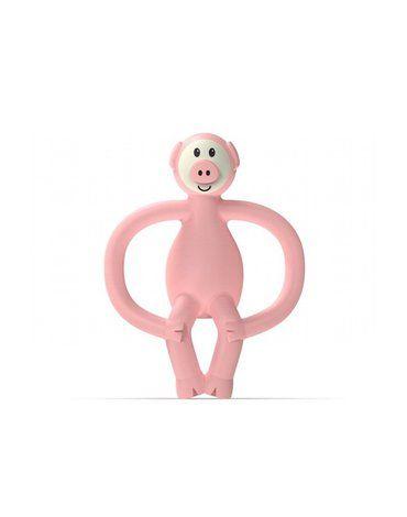 Matchstick Monkey Animals Piggy Gryzak Masujący ze szczoteczką