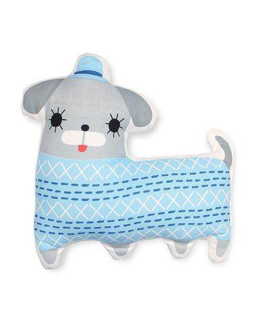 Petit Monkey - poduszka z BIO bawełny Piesek w meloniku 44 cm