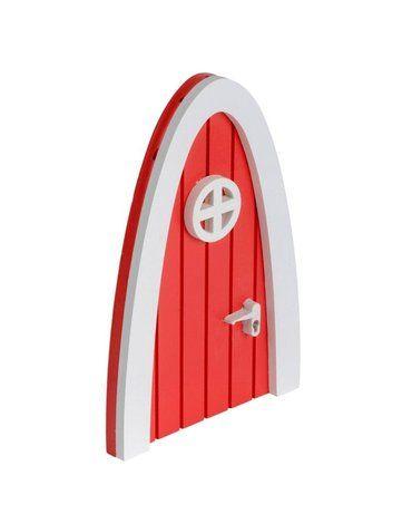 A Little Lovely Company - Czerwone Wróżkowe Drzwi do Leśnej Krainy