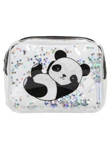A Little Lovely Company - Lśniąca kosmetyczka GLITTER Panda