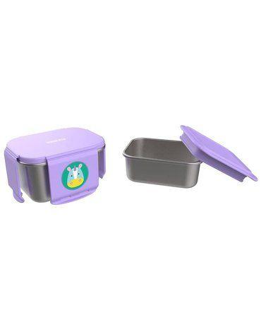 Stalowe pudełko śniadaniowe Jednorożec