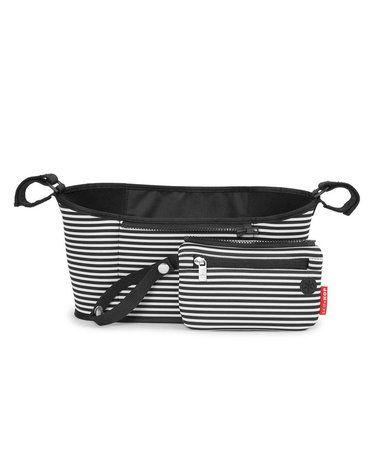 Skip Hop - Organizer do wózka Black/White Stripe