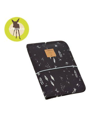 Lassig Casual Label Etui-organizer na akcesoria do przewijania Feathers black