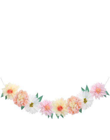 Meri Meri - Girlanda gigant Kwiaty ogrodowe