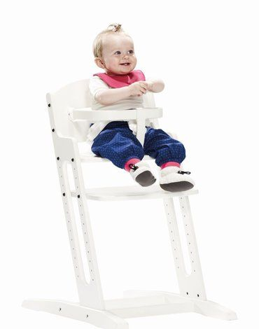 Krzesełko do karmienia Baby Dan DANCHAIR brązowe
