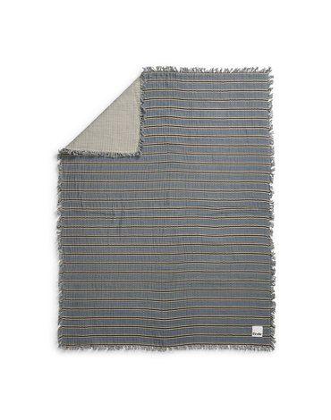 Elodie Details - Kocyk bawełniany - Sandy Stripe