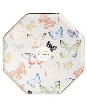 Meri Meri - Talerzyki Motyle
