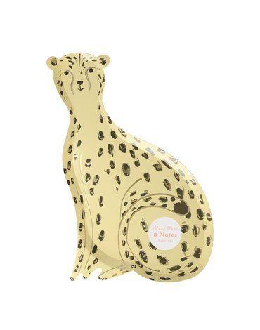 Meri Meri - Talerzyki Gepard Safari