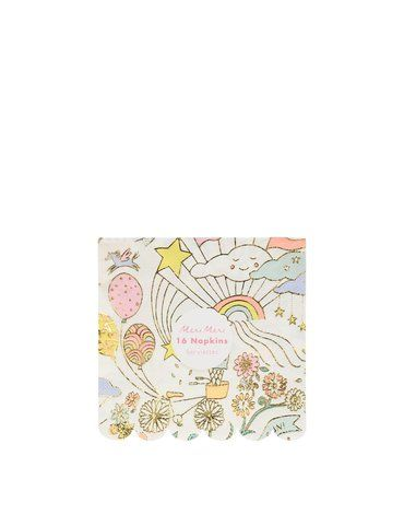 Meri Meri - Małe serwetki Happy Doodle