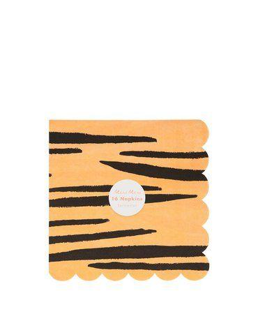 Meri Meri - Duże serwetki Safari print