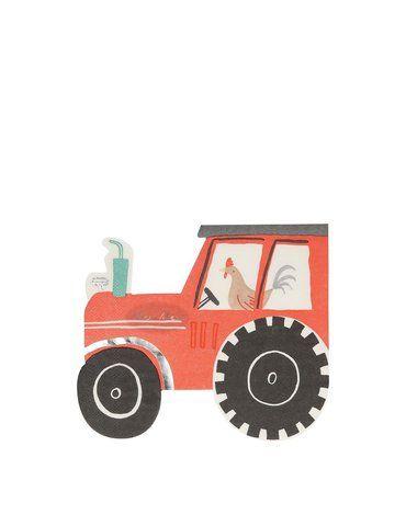Meri Meri - Serwetki Traktor Farma