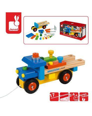 Ciężarówka do składania drewniana duża, Janod