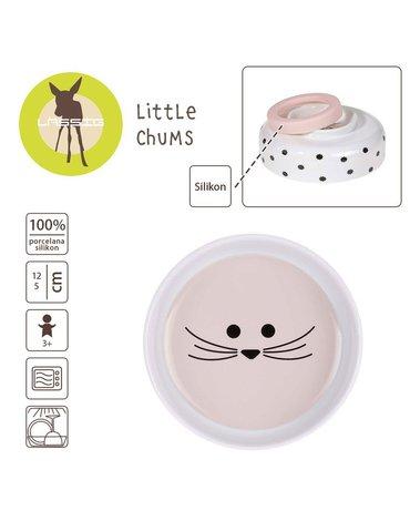 Lassig Miseczka z porcelany Little Chums Mysz