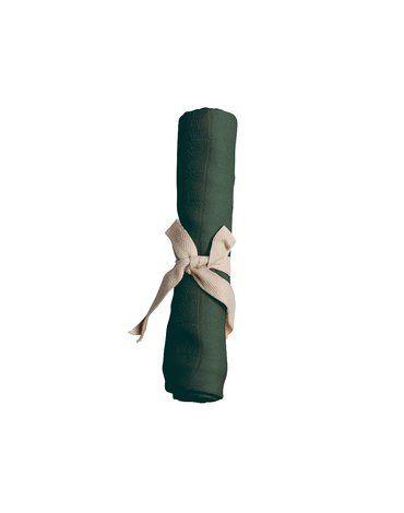Filibabba Pieluszka muślinowa 65 x 65 cm Dark Green