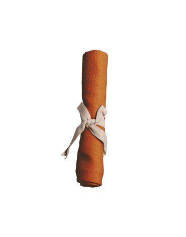Filibabba Pieluszka muślinowa 65 x 65 cm Dark Orange