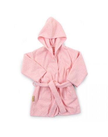 CHILDHOME - Szlafrok 6-24 miesiące pastelowy różowy