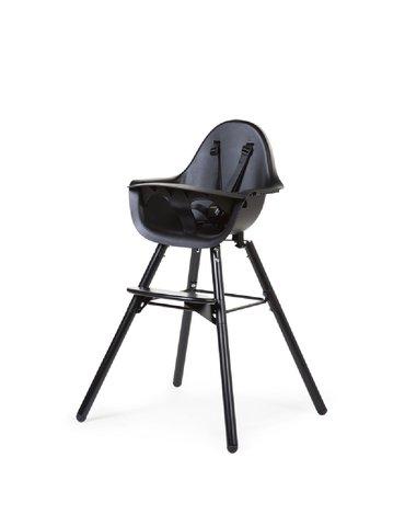 CHILDHOME - Krzesełko do karmienia Evolu 2 Black