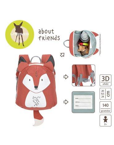 Lassig Plecak mini About Friends Lisek