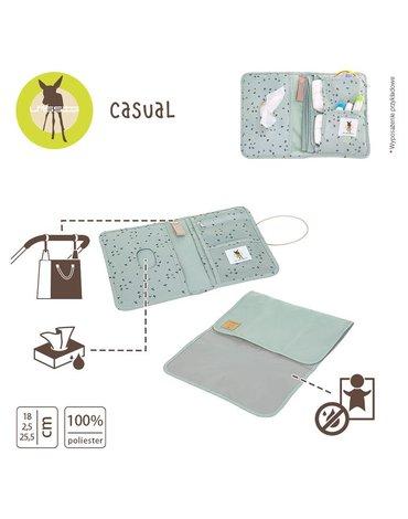 Lassig Casual Label Etui-organizer na akcesoria do przewijania Floral mint