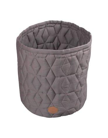 Filibabba Pojemnik materiałowy na zabawki 43 x 35 x 35 cm Dark Grey