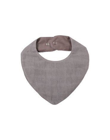 Filibabba Śliniak muślinowy Grey