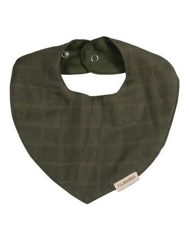 Filibabba Śliniak muślinowy Olive Green